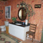 Bath House Interior