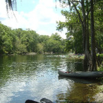 Cabin for rent on the Santa Fe River in Florida